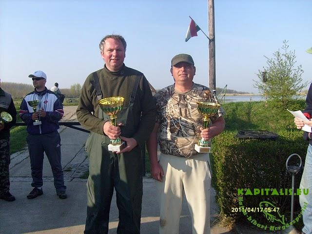 24 órás pontyfogó verseny a Sziki horgásztavon 2011.04.16 beszámoló