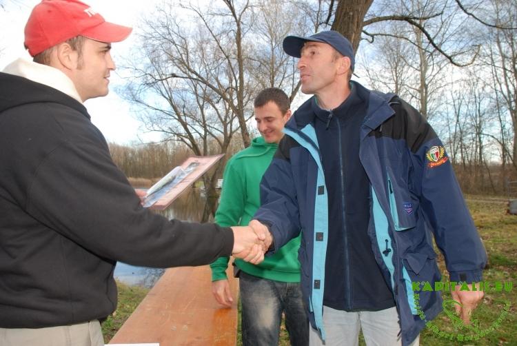 I. KAPITALIS.EU pergető horgászverseny 2010.11.13
