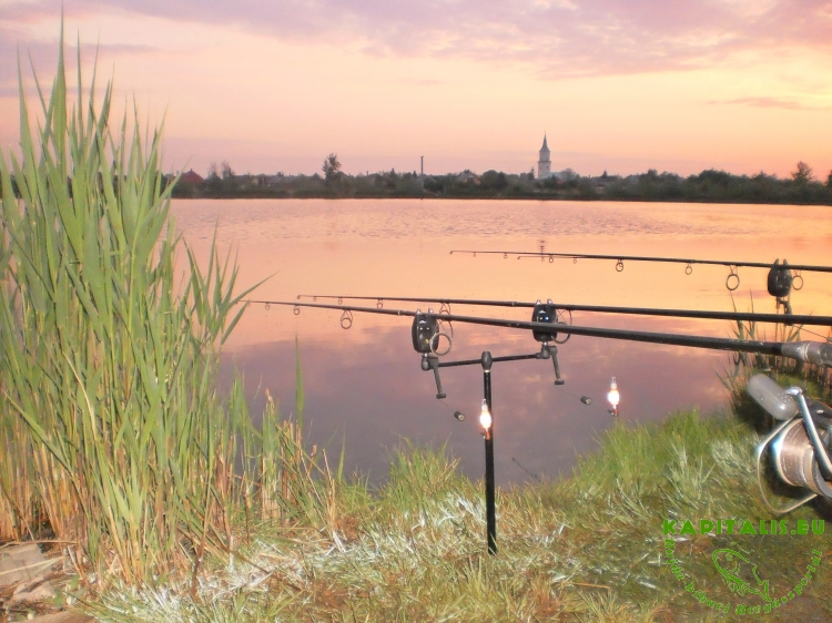 Püspökladányi 5. számú horgásztó bemutatása