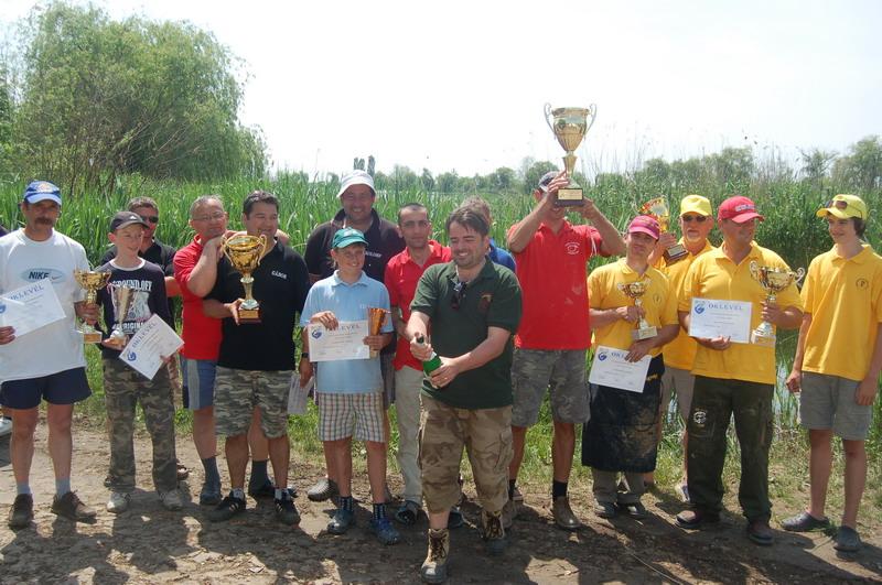 Egyesületi versenyek a Látóképi víztározón 2013
