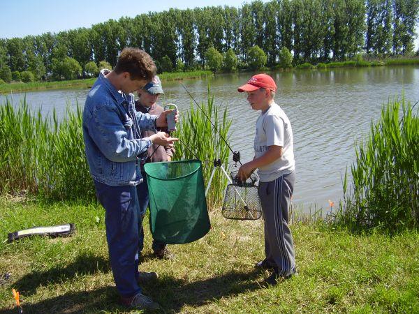 A Budaházi tó, avagy a földesi horgásztó története