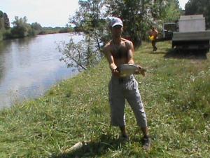 Halasították a Hármashegyit horgásztavat – augusztus 14
