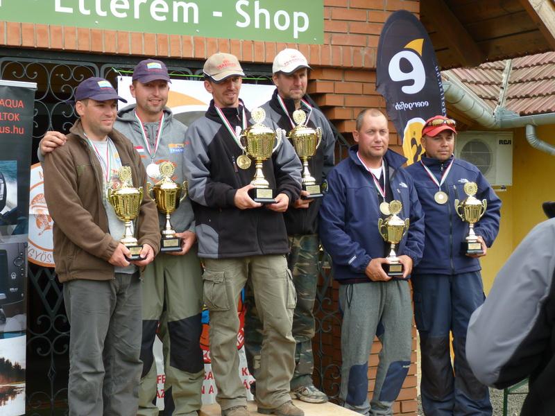 Csónakos Pergető Országos Bajnokság 2012.  V. forduló Tiszafüred