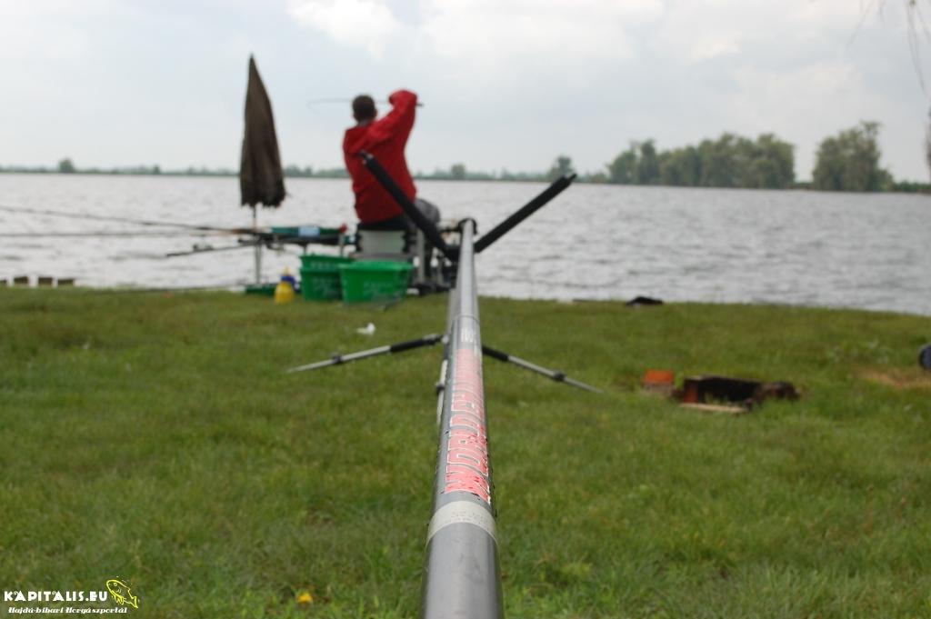 Megyei horgászverseny végeredménye 2013.05.25