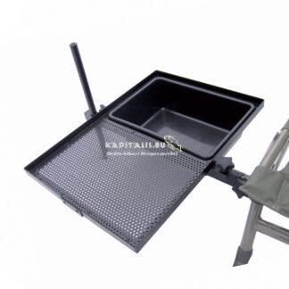 Carp zoom - székre szerelhető csalitartó tálca és tál (cz2029)