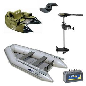 Csónak, csónakmotor, kiegészítők
