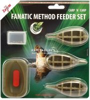Carp zoom Fanatic method feederkosár szett (cz1114)