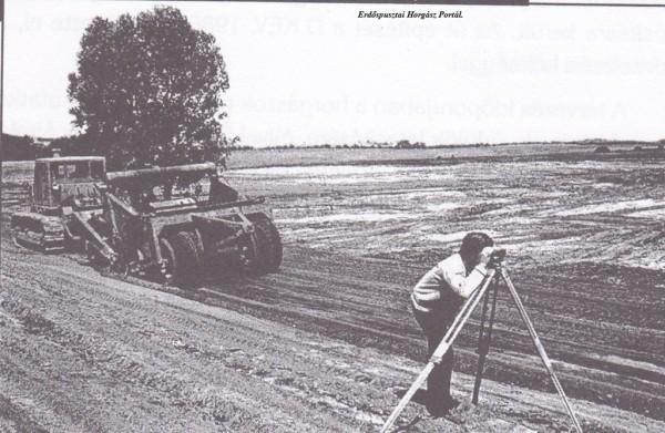 Az I-es tározó kialakításának munkálatai 1975-elején kezdődtek, és még abban az évben el is készítették.