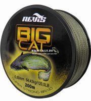 Nevis Big cat harcsás 0,80mm fonott damil (200 méter)
