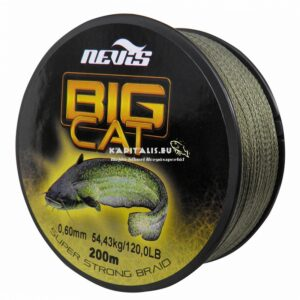 Nevis Big cat harcsás fonott damil (200 méter)