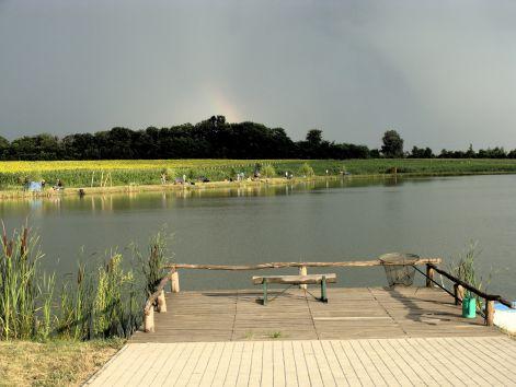 Horgásztábor a Sáska horgásztavon