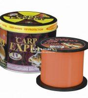 Carp Expert Fluo orange UV álló pontyozó damil  (1000 méter)