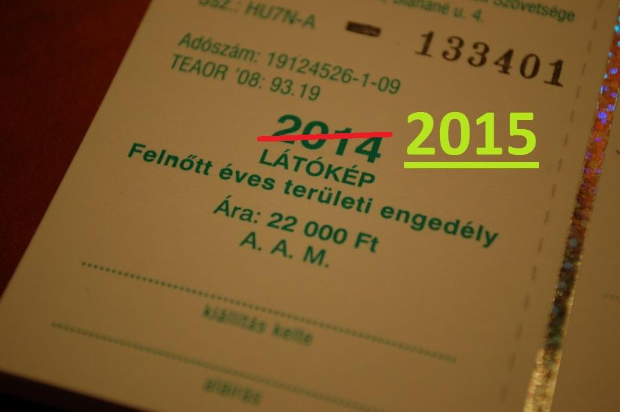 Horgászvizsga és 2015-ös területi engedély árak