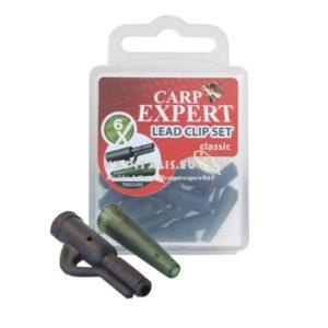 Carp Expert Lead clip szett (elhagyós szerelékhez)