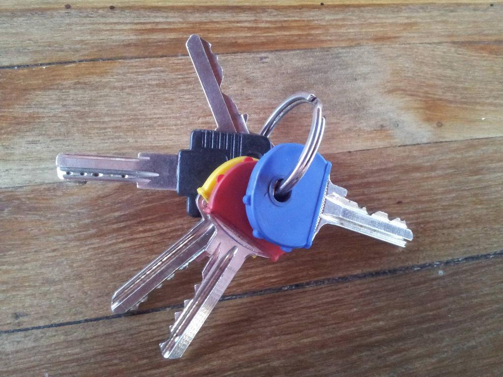 Megtalált kulcscsomó