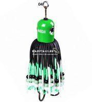 MadCat Clonk Teaser kuttyogató ólom polip 100gramm (zöld)