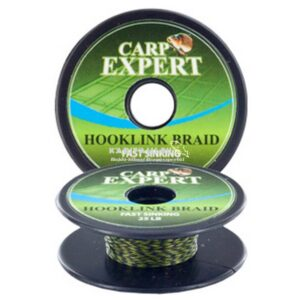 Carp Expert Fast Sinking fonott előkezsinór (Camou green)