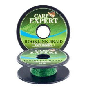 Carp Expert Fast Sinking fonott előkezsinór (Moss Green)