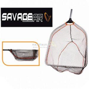SavaGear Folding rubber mesh összecsukható merítőháló