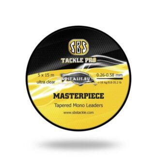 SBS Masterpiece Tapered Mono Leader kónuszos dobóelőke