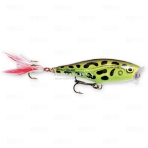 Rapala Skitter Pop (LF-Lime frog) felszíni wobbler