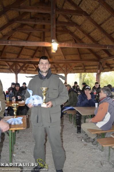 3. helyezett: Vajas Ferenc (83cm-1db)