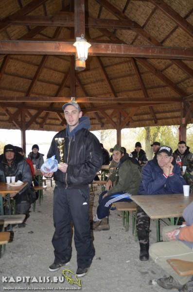 2. helyezett: Nyéki Viktor (95cm-2db)