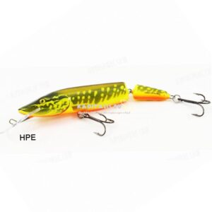Salmo Pike 11JDR HPE (hot-pike) jointed wobbler