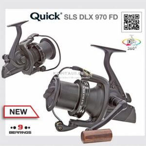 DAM Quick SLS DLX 970FD elsőfékes távdobó orsó