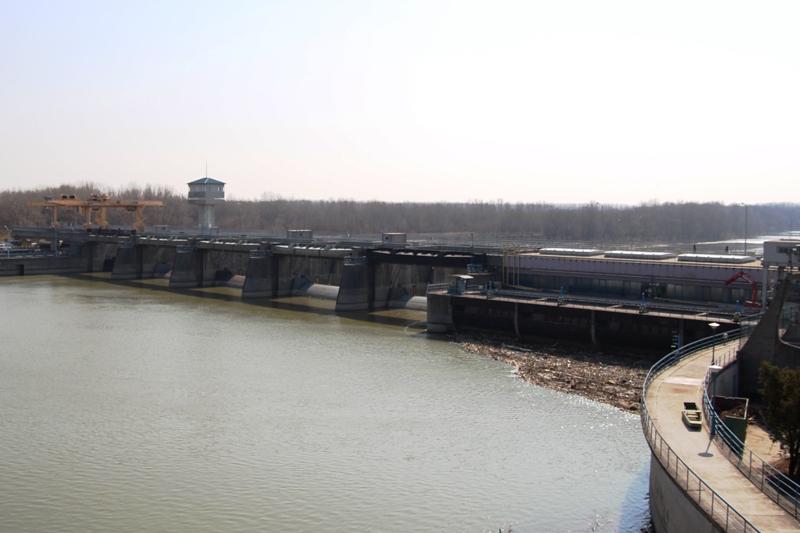 Zsilipnyitás és nyári vízszint beállítás a Tisza tavon