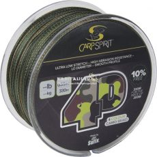 Sufix Carp Spirit 4-D Power Braid fonott zsinór 300m