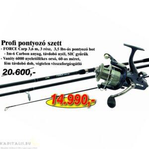 Nevis Profi pontyozó szett Force Carp bot és Vanity orsóval (KB-430)