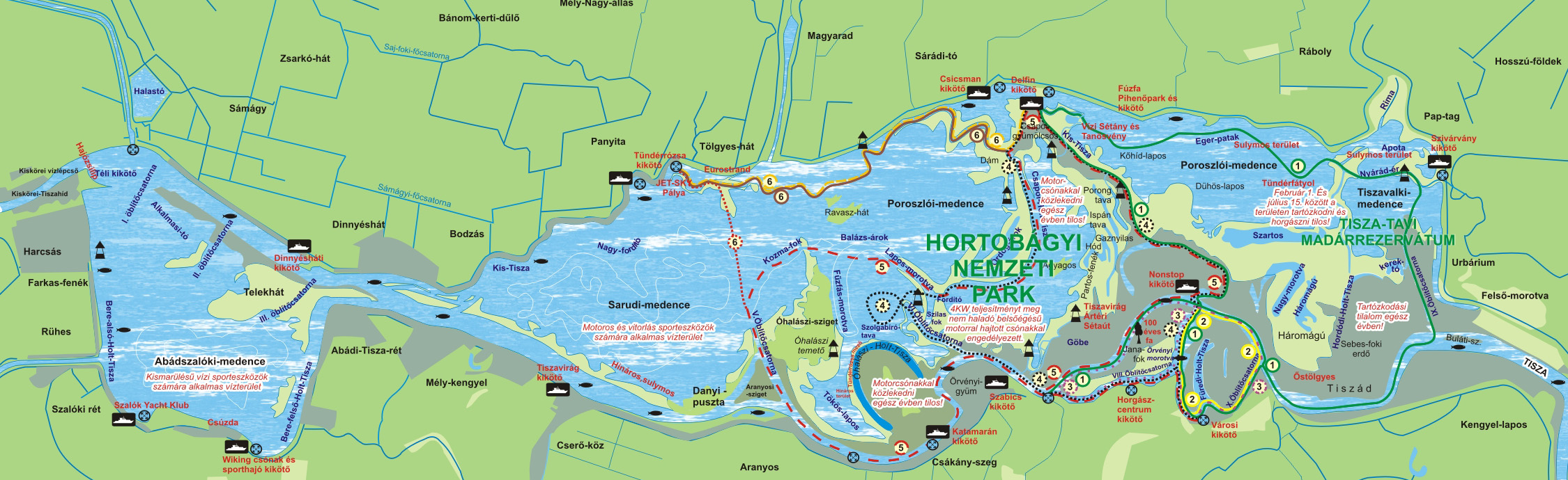 Információ a Tisza tavi behúzós horgászathoz