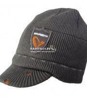 Savage Gear Logo Knit Beanie One Size sapka – szürke