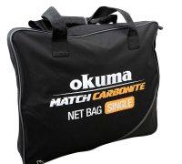 Okuma Match Carbonite egyfakkos merítőfej táska