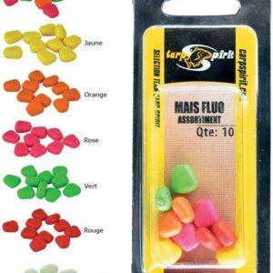 Carp Spirit Fluoro lebegő sárga gumi kukorica (ACS010096)