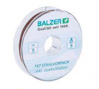 Balzer Niroflex 7×7 szálas krimpelhető wolfram előke (5m)