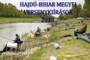 2018. évi Hajdú-Bihar megyei versenynaptár