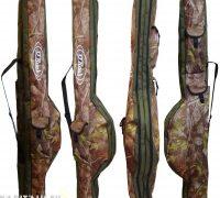 O Reel 2 felszerelt botos terepmintás botzsák 145cm (360-as 3 tagos botokhoz)