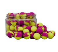 Starbaits Fluoro Lite Pop-up 2tone 14mm (sárga-lila)