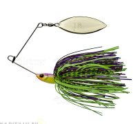 Gunki Spinnaker 1/4oz spinnerbait (Purple Rock)