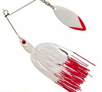Gunki Spinnaker 1/4oz spinnerbait (Red Head)