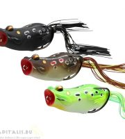 Savage Gear 3D Pop Frog 70 20g Black Frog béka