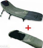 Carp zoom Komfort ágy + Extreme hálózsák kombó
