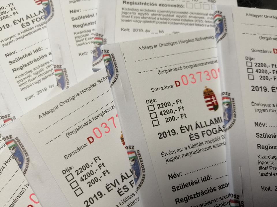 Már válthatóak a 2019-es állami jegyek Egyesületünknél