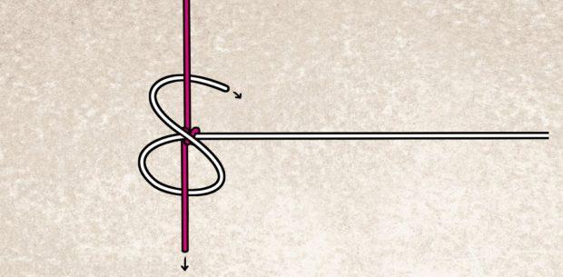 A kötését nehéz elmagyarázni, talán ez az ábra segít a kötés megértésében.