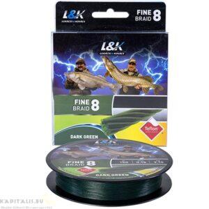 L&K Fine Braid 8 szálas körszövött fonott pergető zsinór