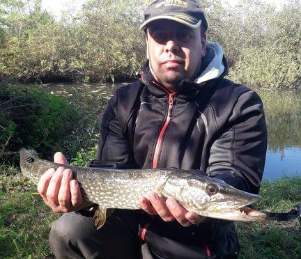 Nyílt nevezéses pergető verseny a K-V horgásztavon