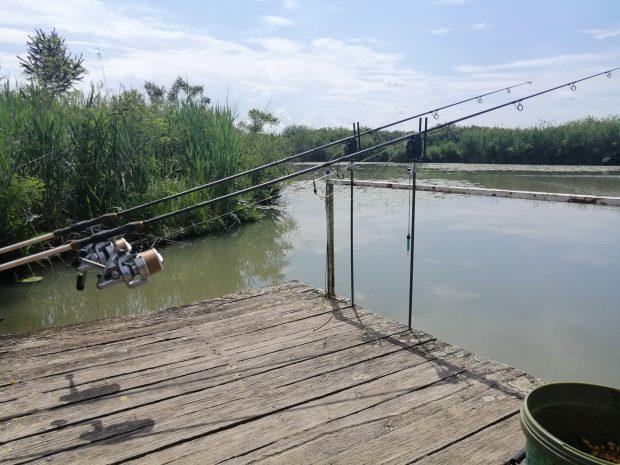 K-V csatorna és horgásztavak