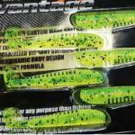 Nevis Vantage Impulse Shad 10cm (zöld-mákos)